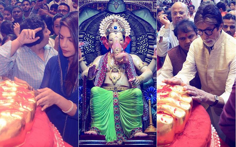 Lalbaugcha Raja Amitabh Bachchan to Priyanka Chopra
